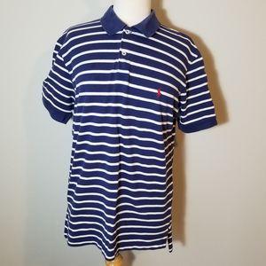 Polo Ralph Lauren Striped Polo Shirt Size Medium